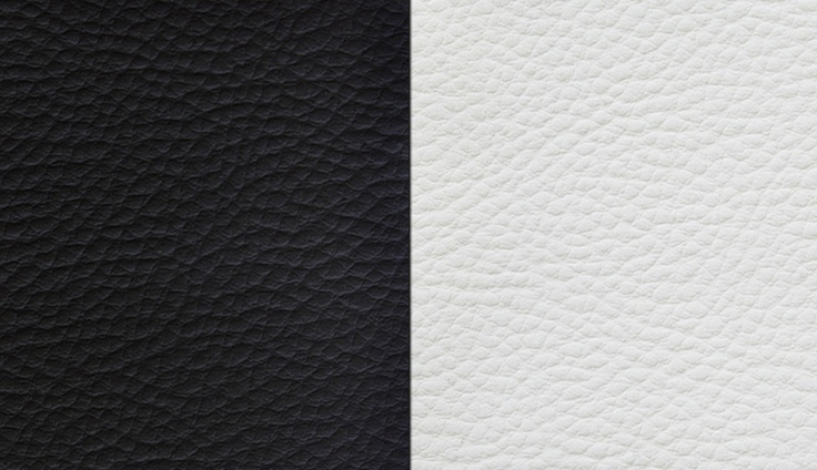 Black and White Leather Texture