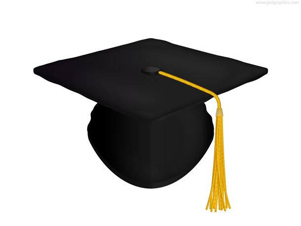 12 Green Graduation Cap PSD Images
