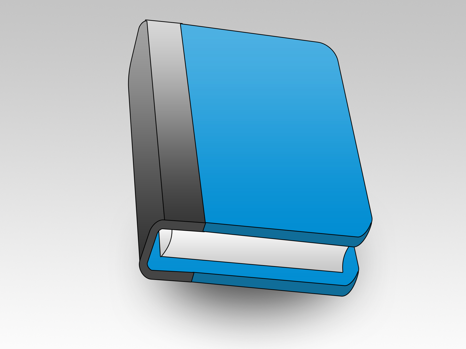 Blue Book Icon