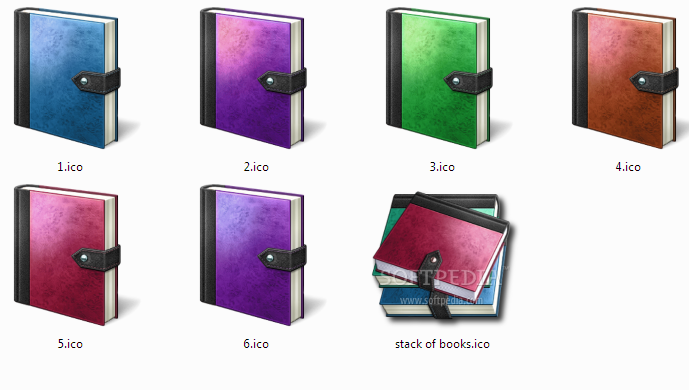 9 Windows Desktop Icons ICO Images
