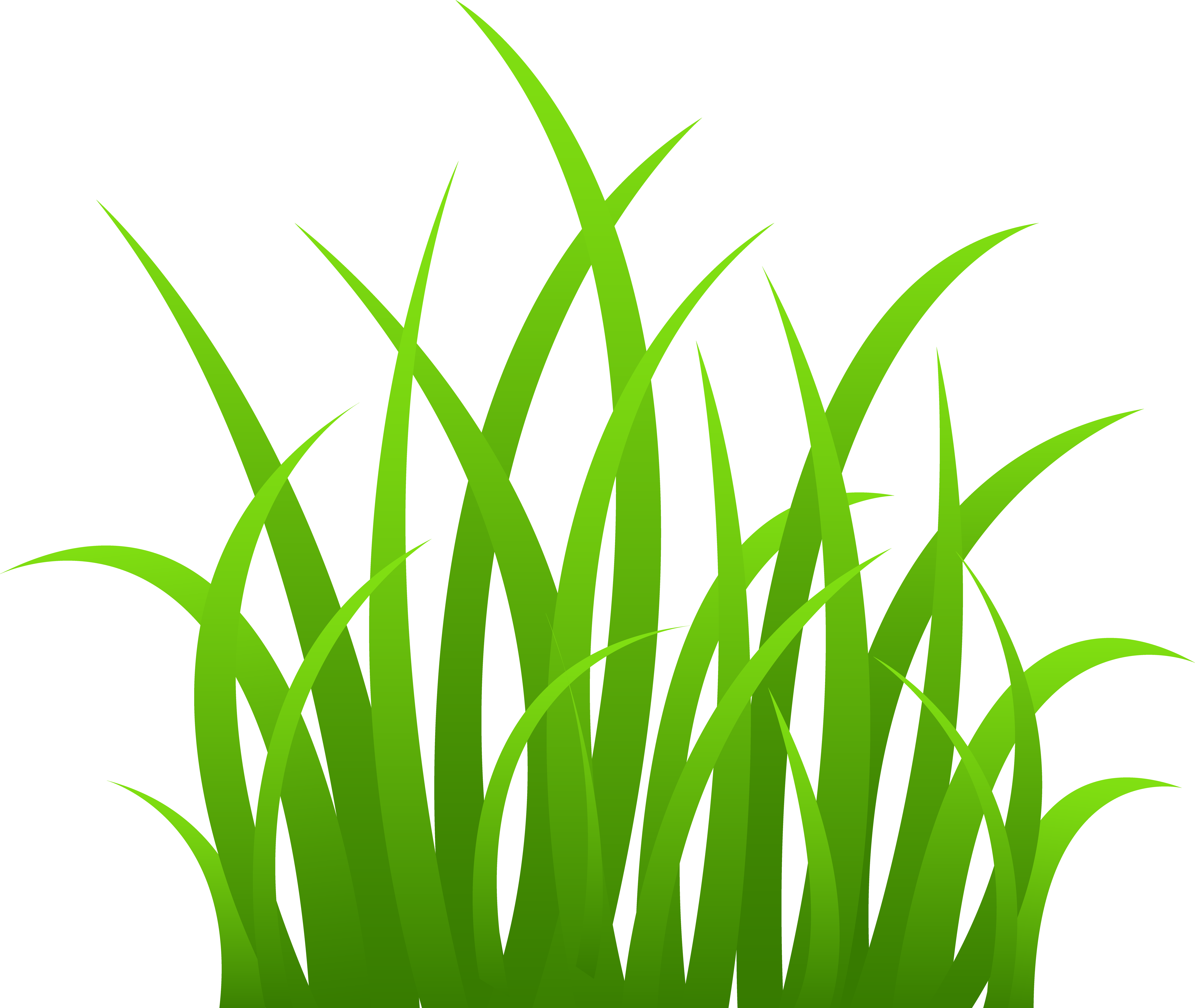 Cartoon Grass Clip Art