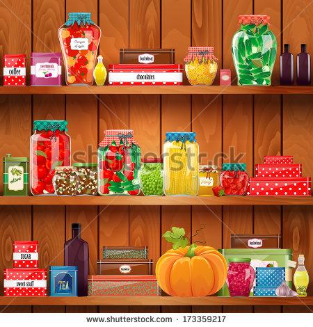 CartoonStock Photo Food Pantry