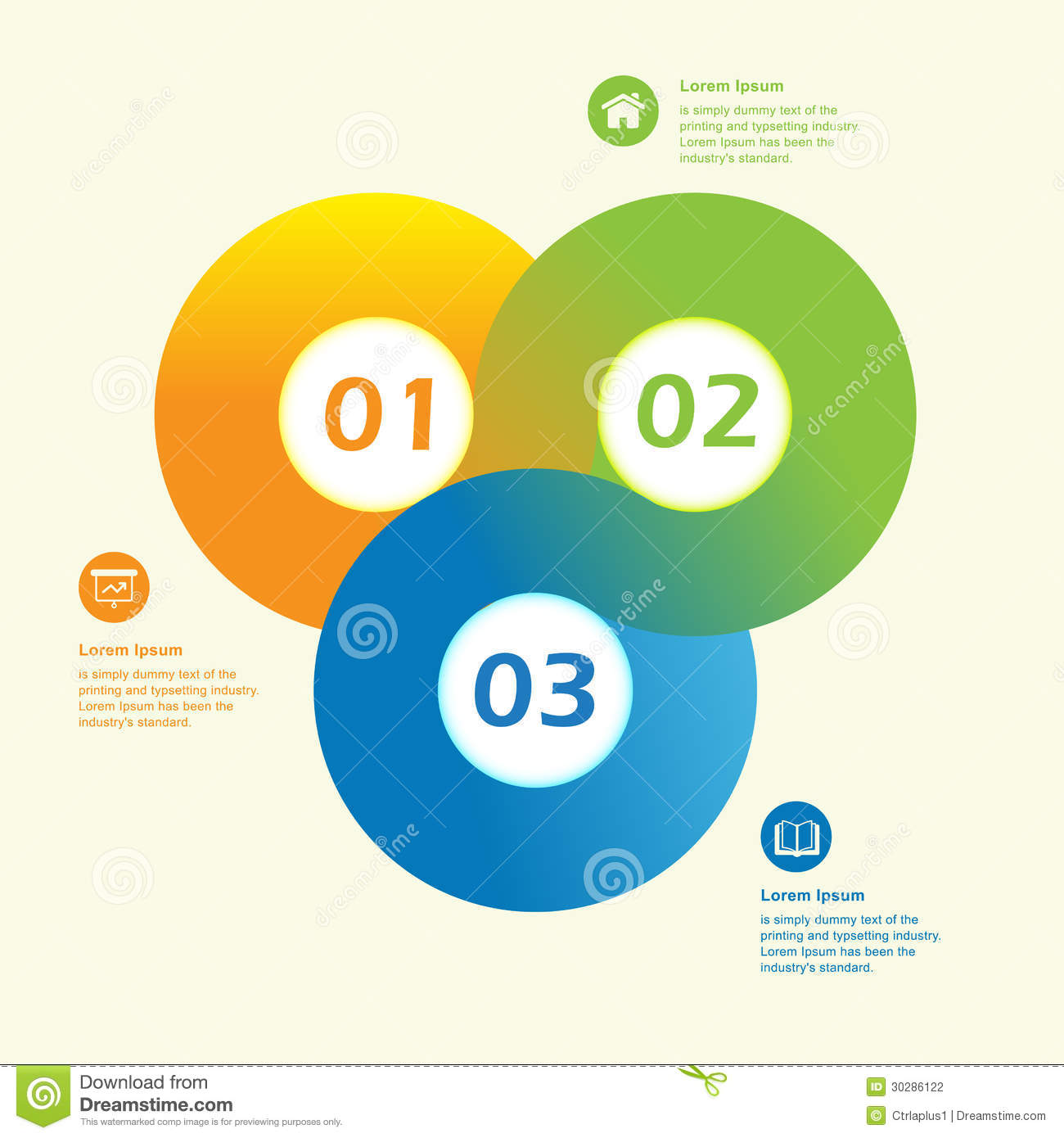 Circle Design Layout Templates