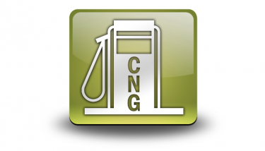 CNG Compressed Natural Gas Fueling Station