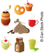 Coffee and Tea Clip Art