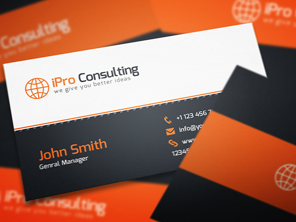 50 Best Free PSD Business Card Templates  dcrazednet