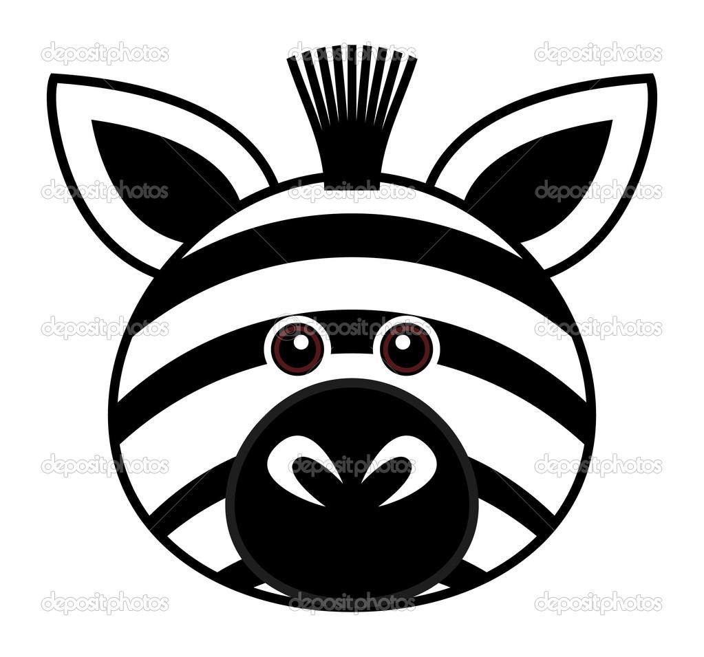7 Zebra Face Vector Images
