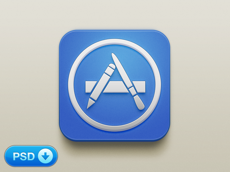 18 App Icon PSD Images