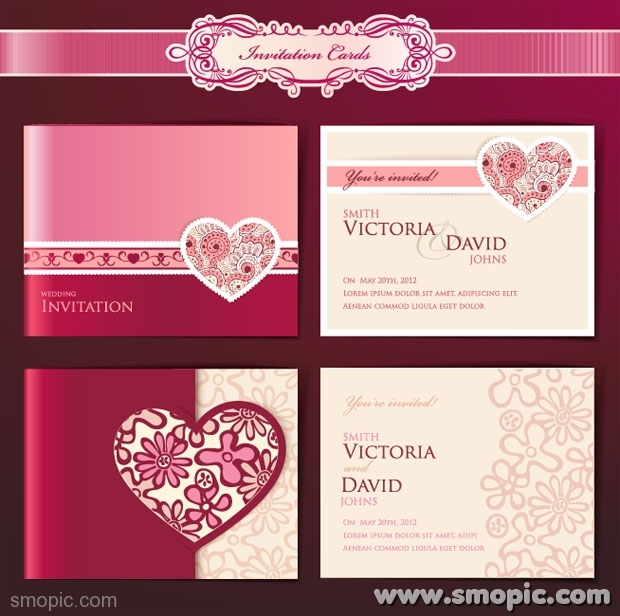 19 Wedding Psd Card Templates Free Download Images Indian
