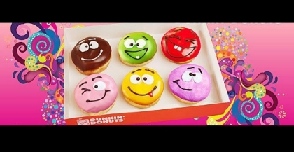 13 Smiley Emoticons Dunkin' Donuts Images