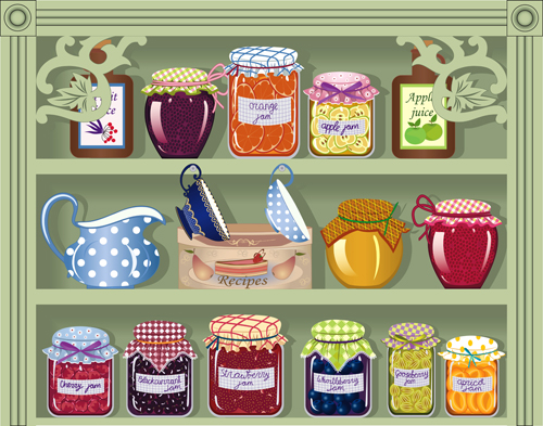 Food Pantry Clip Art Borders