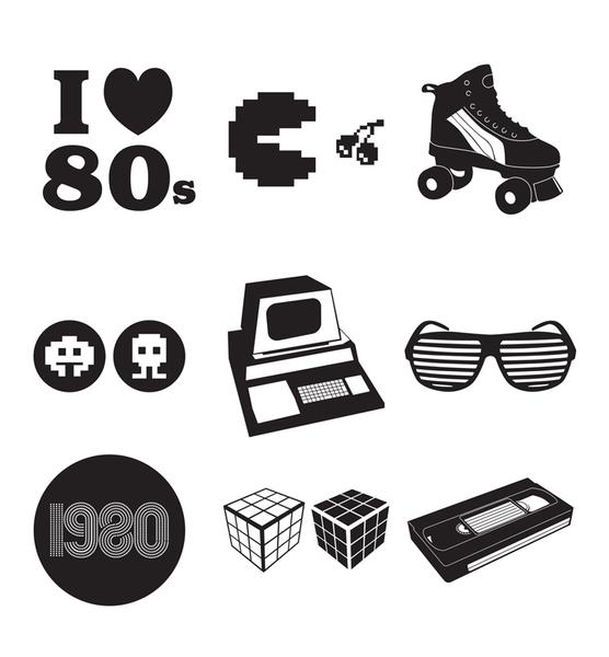 Free 80s Clip Art