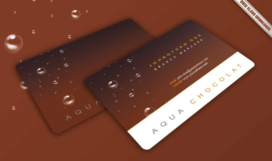 18 Free Business Card PSD Images