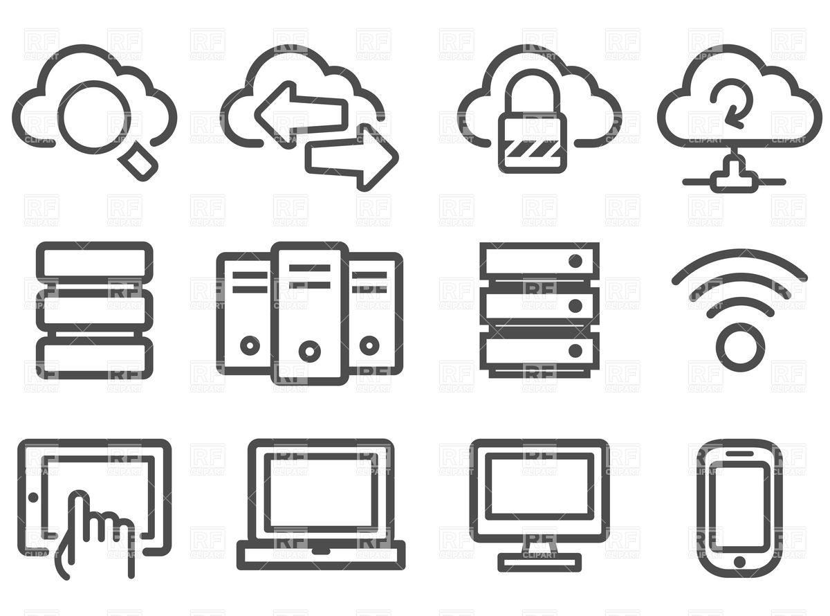 Free Computer Network Icon