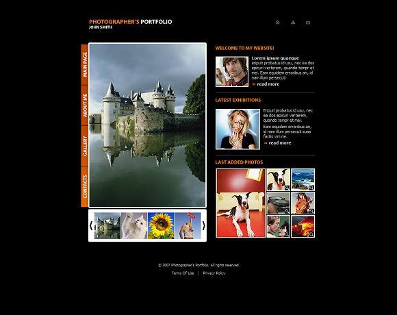 Photography Portfolio Website Template Free Images Free - Photography portfolio website templates free