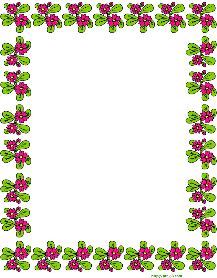14 Free Printable Paper Border Designs Images