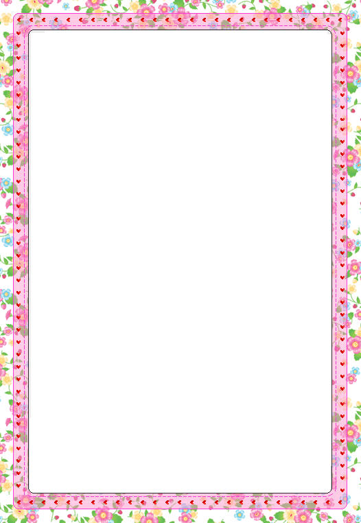 Free Printable Stationery Paper with Borders