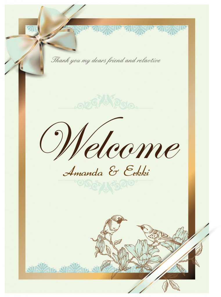Personal Card Wedding Invitation Matter as perfect invitation template