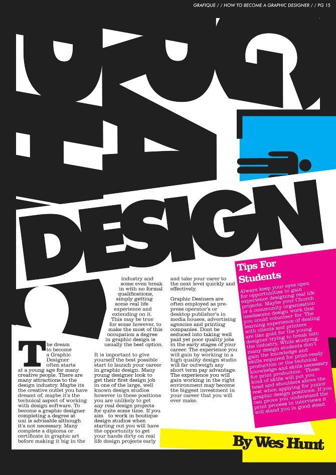 Graphic Design Magazine Crowdbuild For