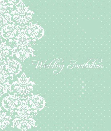 Graphic Wedding Invitations