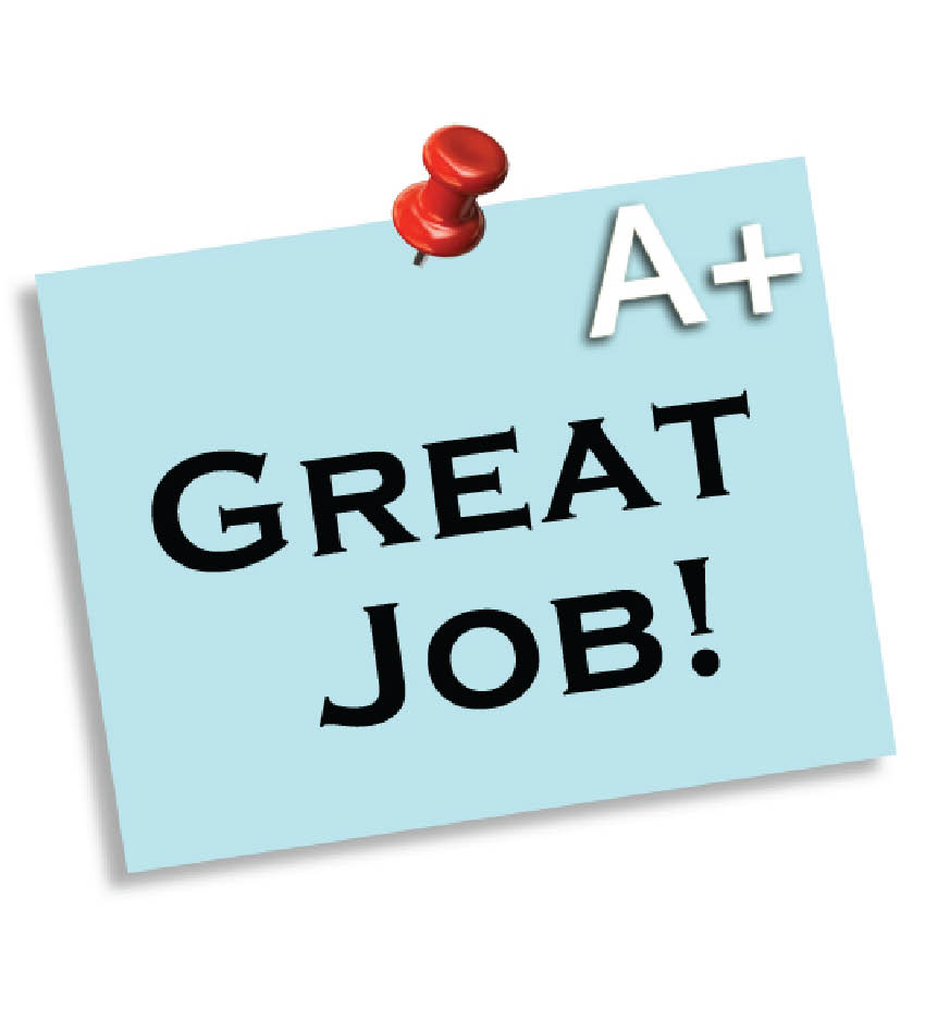 free clip art for great job - photo #27