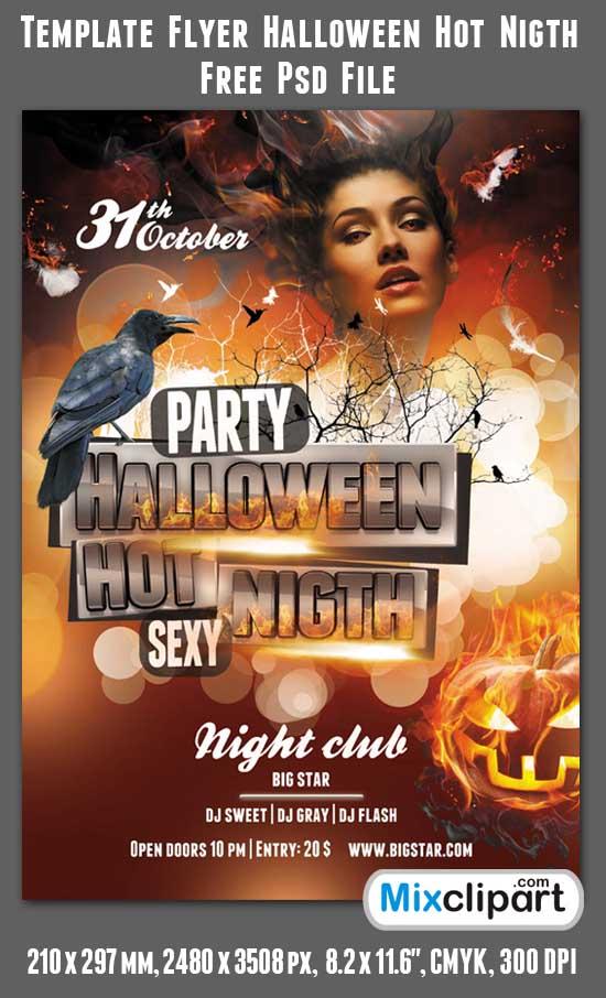 download free halloween flyers