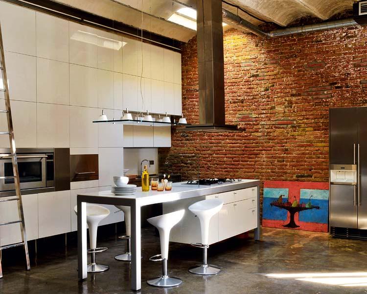 Industrial Loft Interior Design Ideas