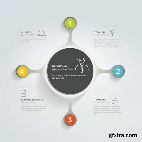 Infographic Circle Template