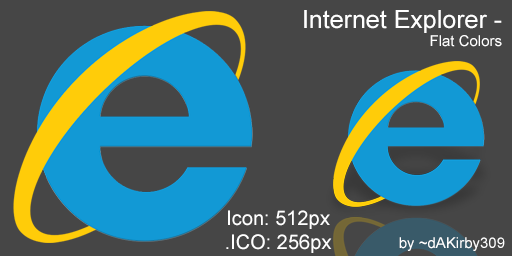 10 Flat Internet Icon Images
