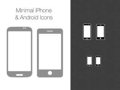 iPhone Icons Vector Free