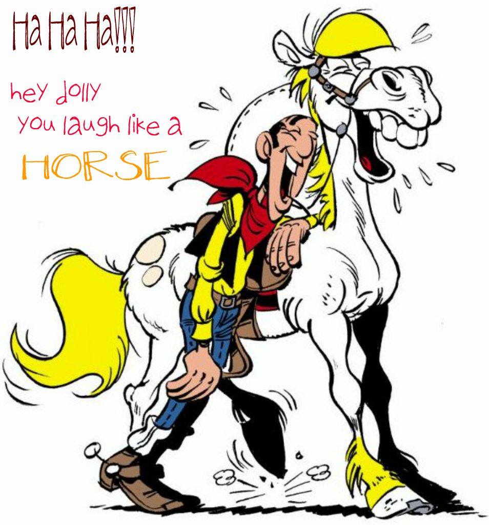 Lucky Luke Cartoon