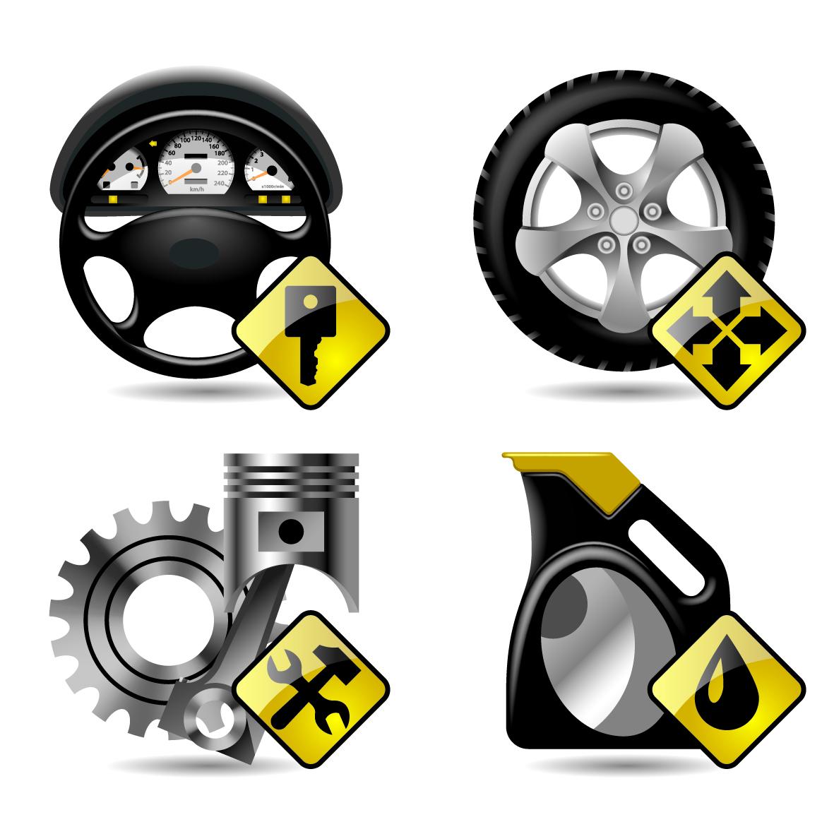 12 Auto Maintenance Icons Images - Car Maintenance Icons ...