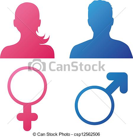 8 Gender Icons Vector Free Images