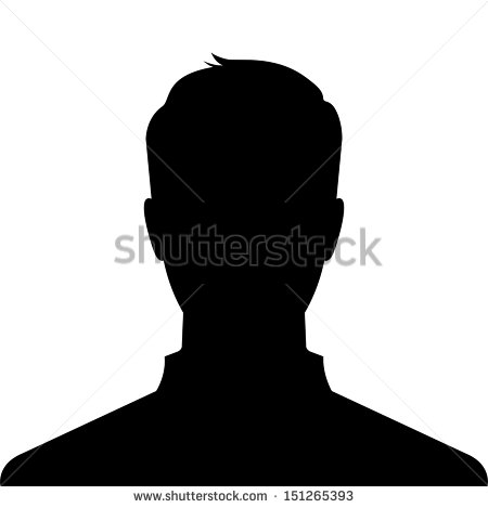 12 Profile Silhouette Vector Images