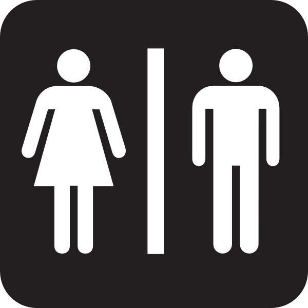 17 Bathroom Symbols Vector Images