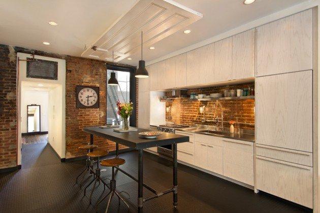 Modern Industrial Interior Design Kitchen