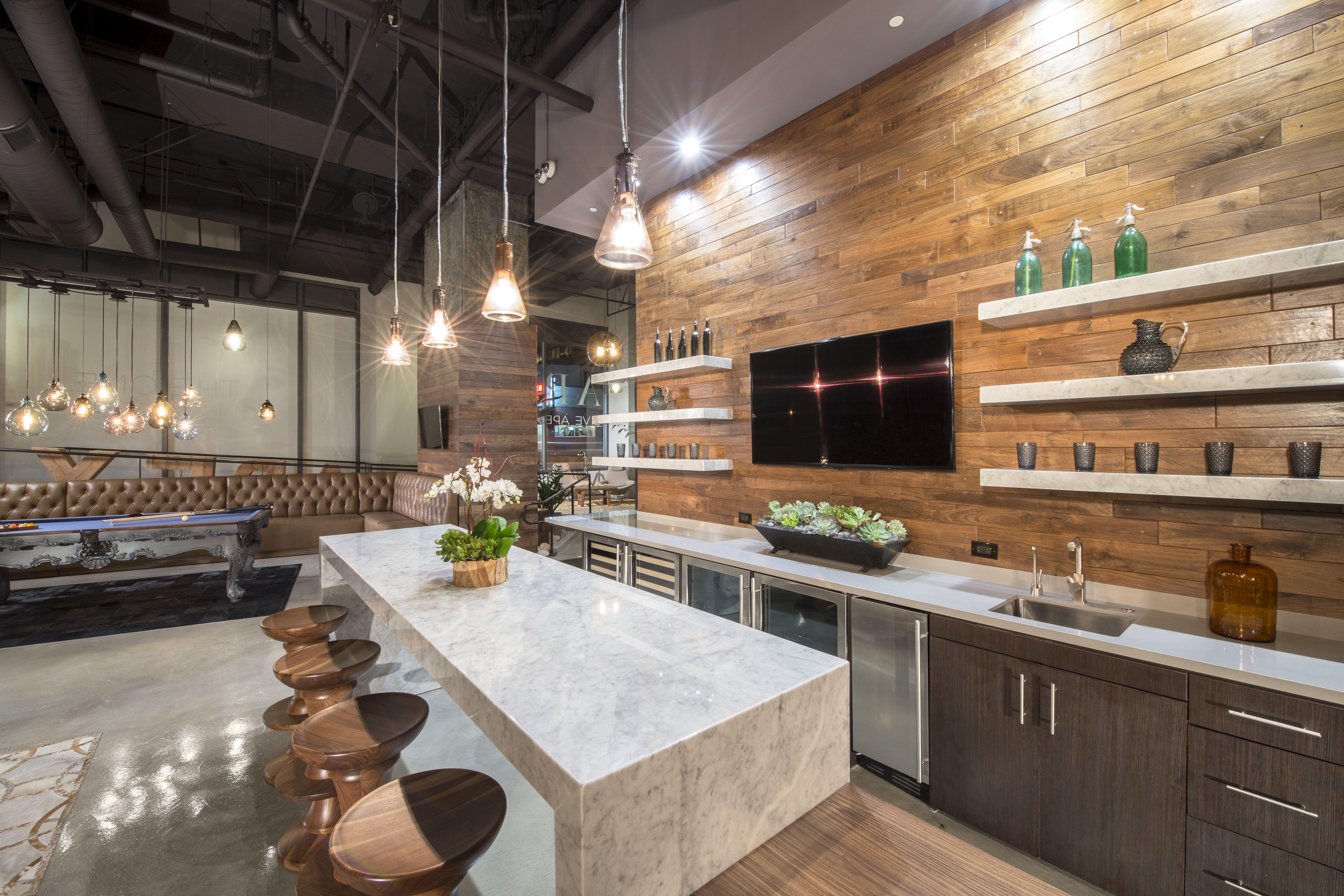 Modern Industrial Kitchen Lighting