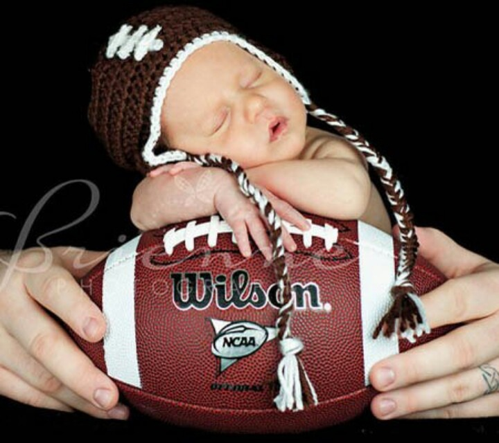 Newborn Baby Football Hat