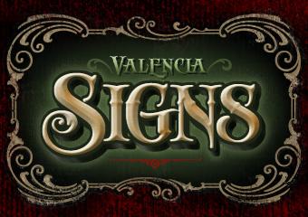 8 Old Timey Sign Font Images