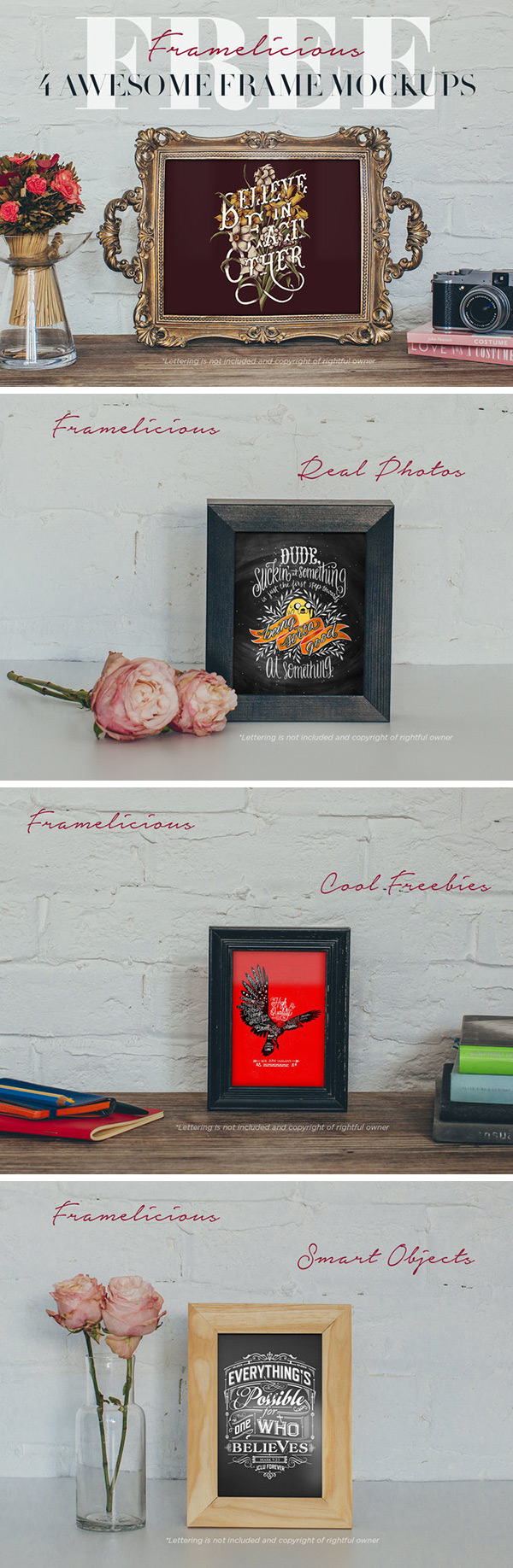 Photo Frame Mockup PSD Free Download