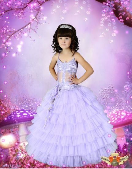 Photoshop Little Girl Dresses