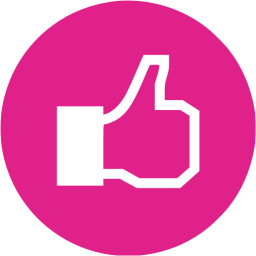 10 Facebook Like Icon In Pink Images Pink Facebook Logo Icon Pink Facebook Like Icon And Purple Facebook Icon Newdesignfile Com