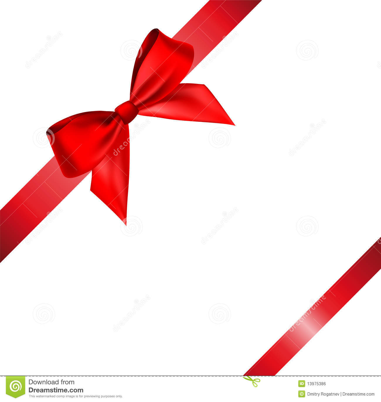 19 Vector Christmas Ribbon And Bow Images - Free Vector ...