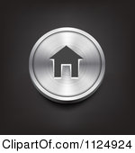 5 Silver Home Icon Images