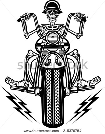 how to draw a harley davidson motorcycle easy