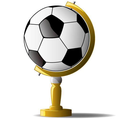 Soccer Ball Display Stand