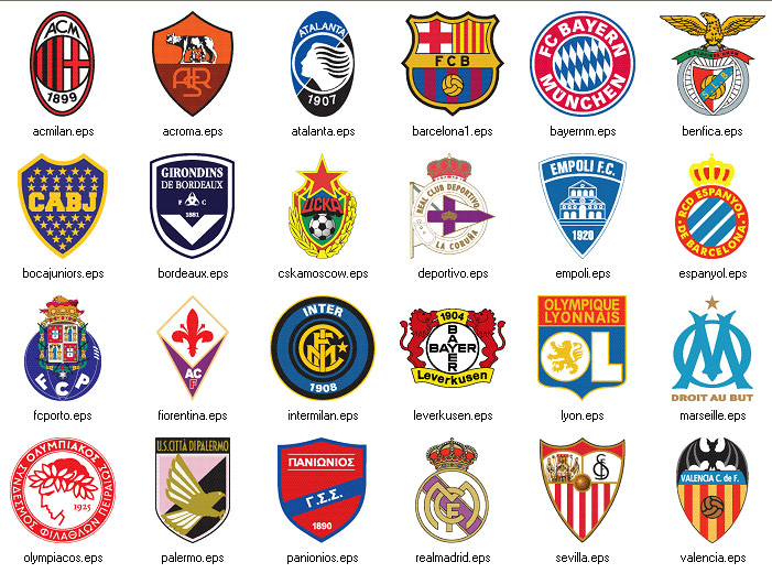 Sports Team Logos and Names