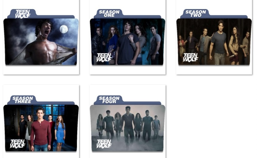 8 Teen Titans Folder Icon Images