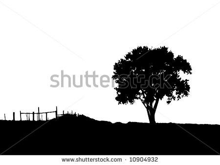 11 Western Landscape Art Vector Images