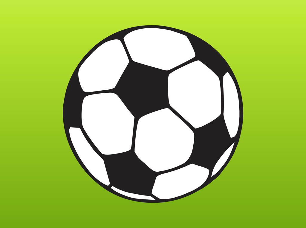 Vector Cartoon Football